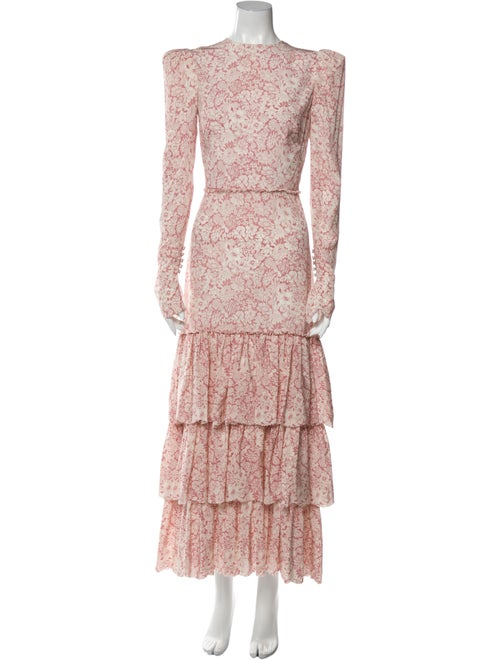 The Vampire's Wife The Liberty Long Dress Pink