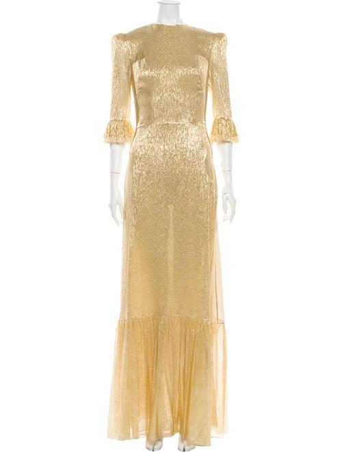 The Vampire's Wife The Festival Long Dress Gold