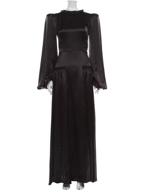 The Vampire's Wife The Frill Long Dress Black