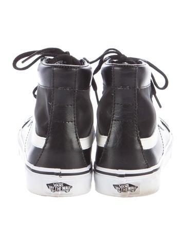 Mesh Sk8-Hi High-Top Sneakers
