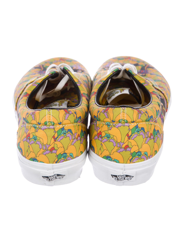Vans x Beatles Yellow Submarine Low Top Sneakers Shoes