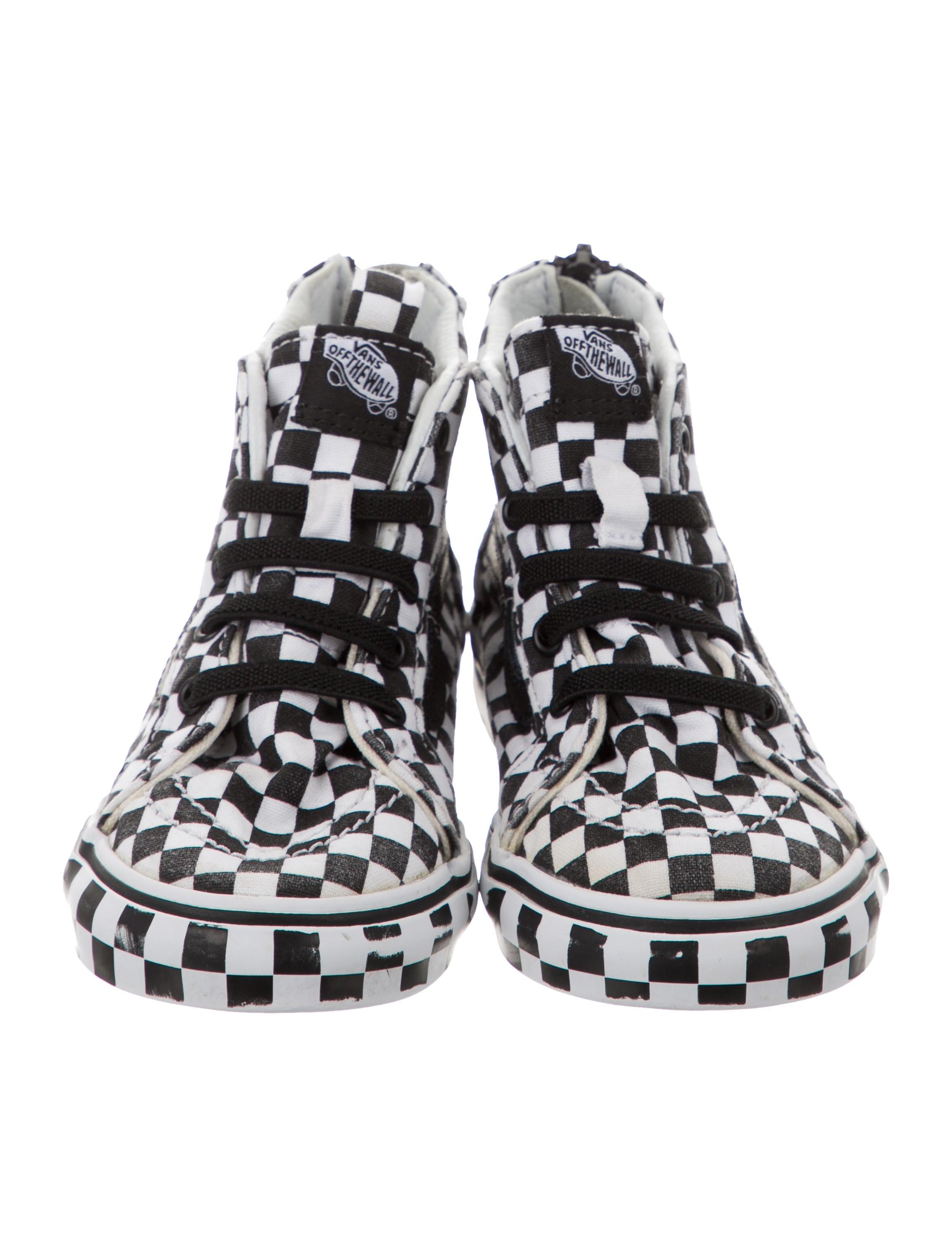 Vans Toddler Kids' Checkerboard High