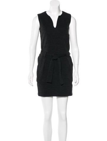 Vanessa Bruno Athé Wool-Blend Mini Dress None
