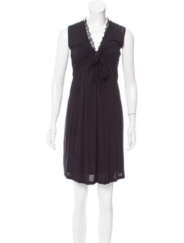 Vanessa Bruno Athé Sleeveless Knee-Length Dress None
