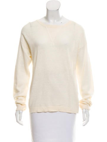 Vanessa Bruno Athé Lightweight Crew Neck Sweater None