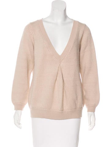 Vanessa Bruno Athé Wool & Alpaca-Blend Sweater None