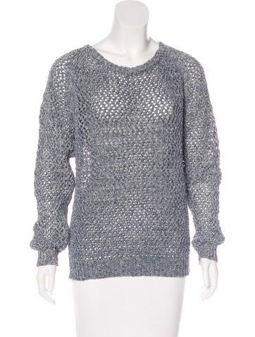 Vanessa Bruno Athé Open Knit Sweater w/ Tags None