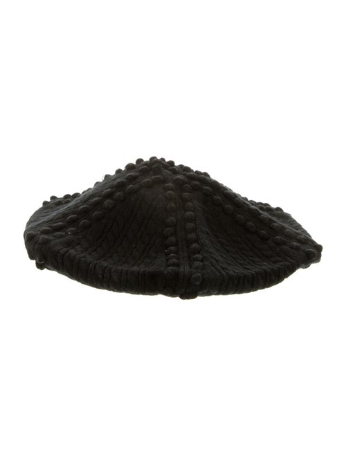 Vanessa Bruno Athé Wool Cable Knit Beret w/ Tags B