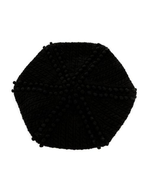 Vanessa Bruno Athé Wool Knit Beret w/ Tags Black