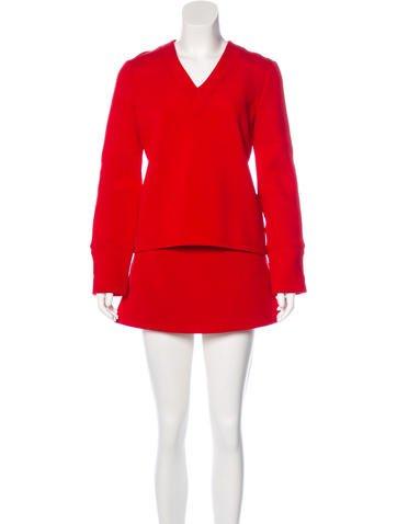 Victoria Beckham Jeans Skirt Set. w/ Tags None