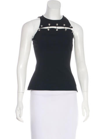 Versus Embellished Sleeveless Top w/ Tags None