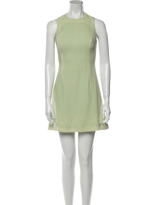 Versus Wool Mini Dress Wool