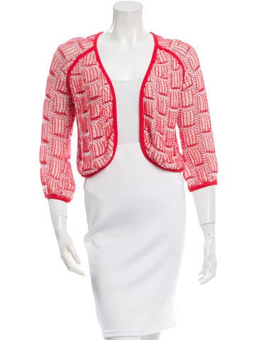 Vena Cava Asymmetrical Open Knit Cardigan None