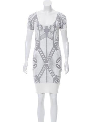 Vena Cava Knit Mini Dress None