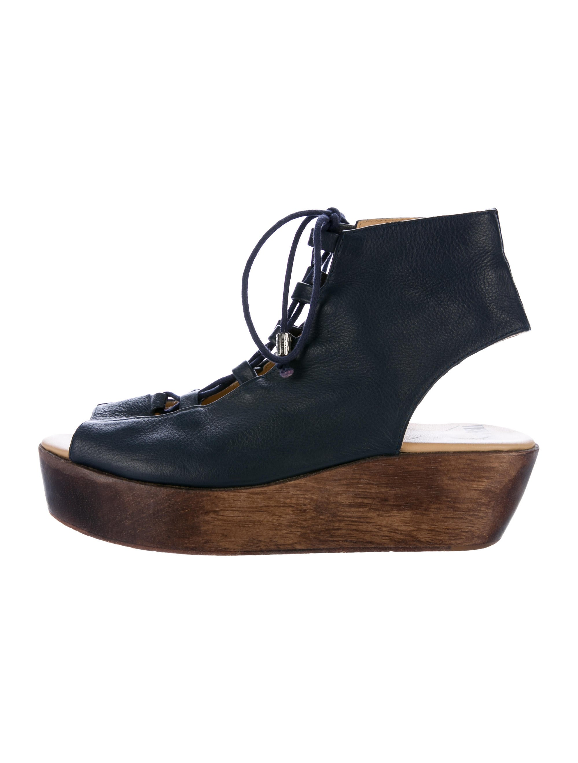 Vena Cava Leather Lace-Up Sandals cheap sale 100% guaranteed latest for sale cheap sale best sale collections online ccqZ2s93