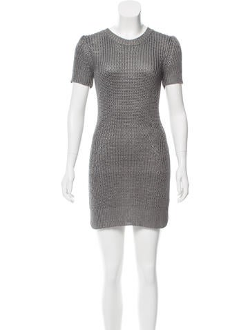 Vena Cava Knit Mini Dress None