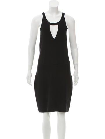 Vena Cava Knee-Length Bodycon Dress None