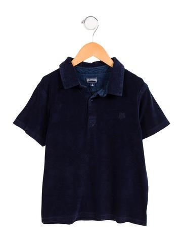 Vilebrequin kids boys 39 terry cloth polo shirt boys for Terry cloth polo shirt