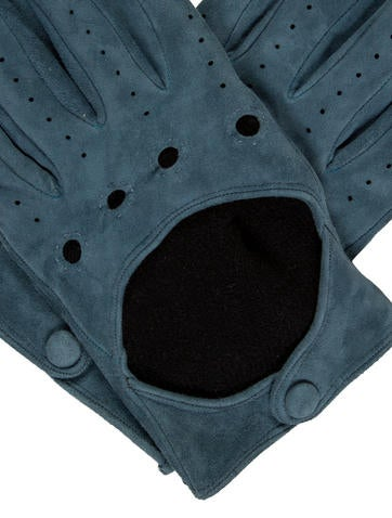 Suede Knit Lined Gloves