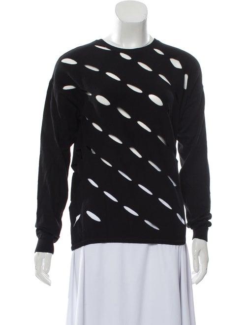 Victor Glemaud Crew Neck Sweater Black