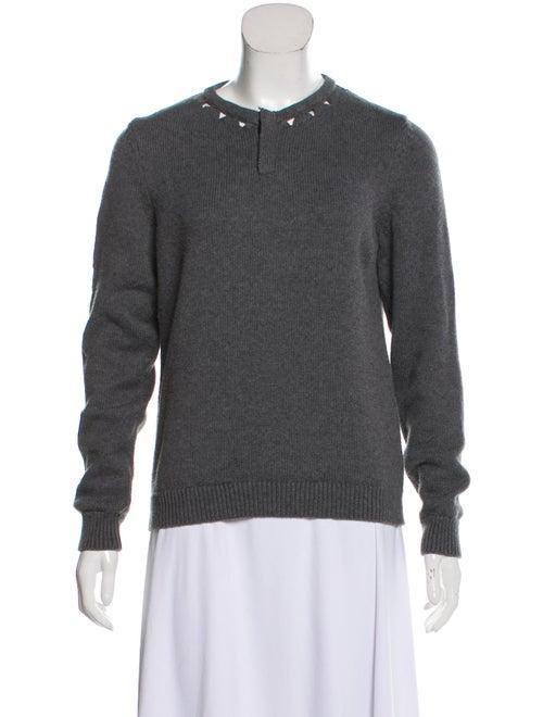 Victor Glemaud Crew Neck Sweater Grey