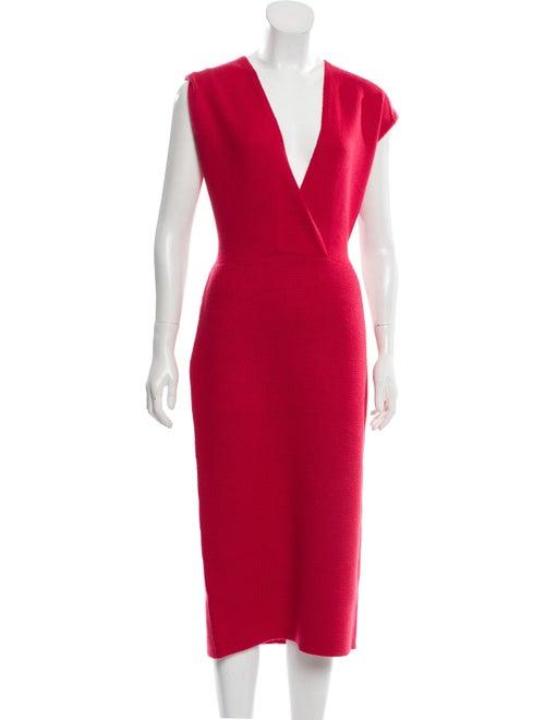 Victor Glemaud Wool Midi Length Dress Wool