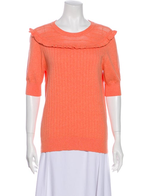 Victor Glemaud Crew Neck Sweater w/ Tags Orange