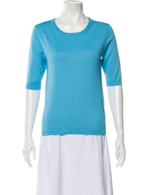 Victor Glemaud 2020 Scoop Neck Sweater Blue