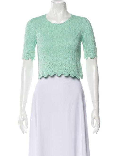 Victor Glemaud Scoop Neck Sweater Green