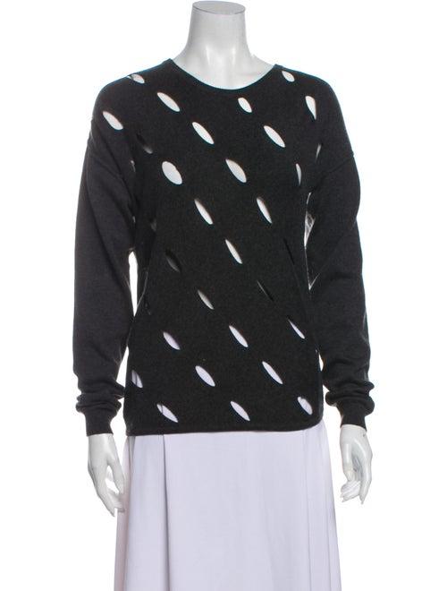 Victor Glemaud Scoop Neck Sweater Grey