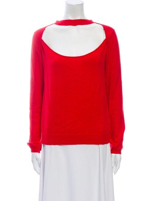 Victor Glemaud Scoop Neck Sweater Red
