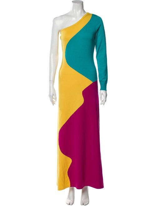 Victor Glemaud Wool Long Dress Wool