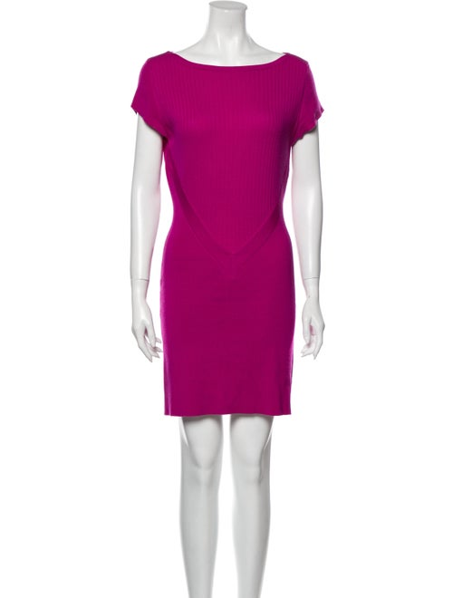 Victor Glemaud Wool Mini Dress Wool