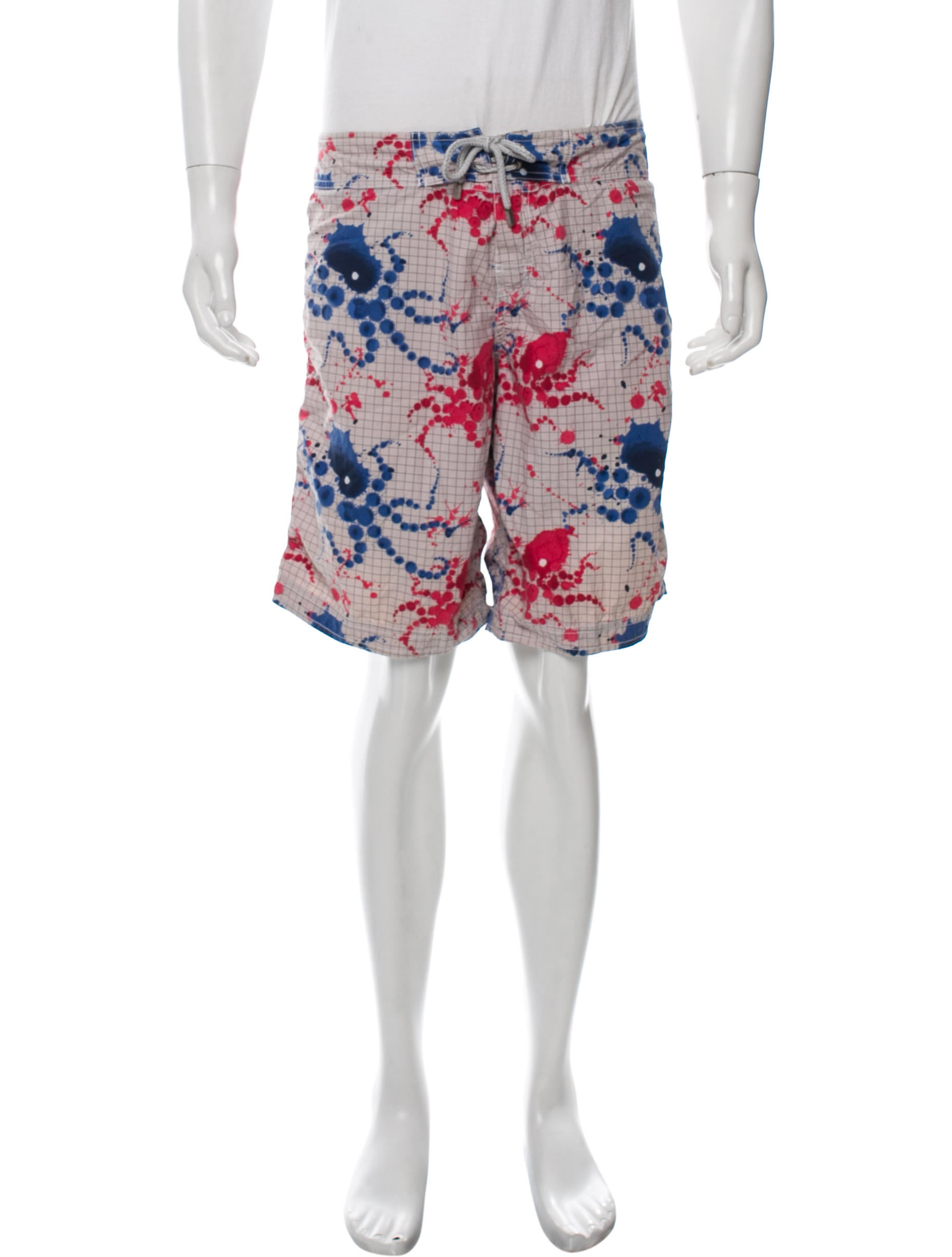 PAINT BOYS 2 NEW WITH TAGS AUTHENTIC VILEBREQUIN SWIM TRUNKS // SHORTS