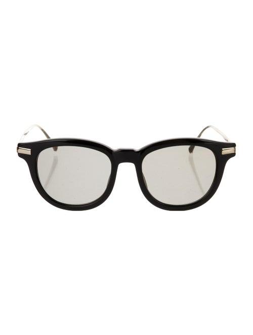 Vilebrequin Round Loeb Sunglasses Black