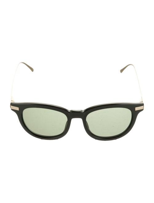 Vilebrequin Loeb Round Sunglasses Green