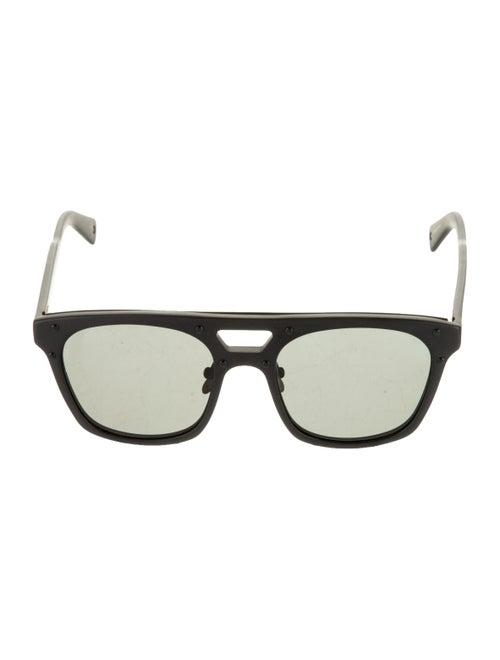 Vilebrequin Chassis Square Sunglasses Black