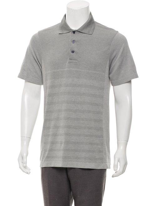 Vilebrequin Mesh Polo Shirt grey