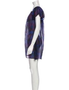 Vilebrequin Printed Mini Dress w/ Tags