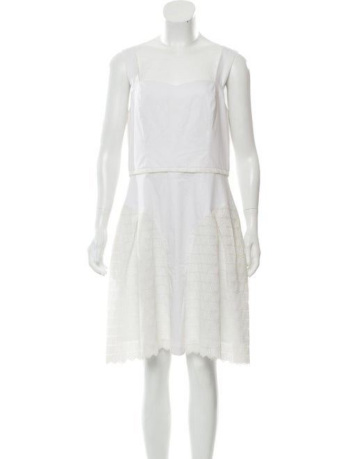 Vivienne Hu Sleeveless Mini Dress White