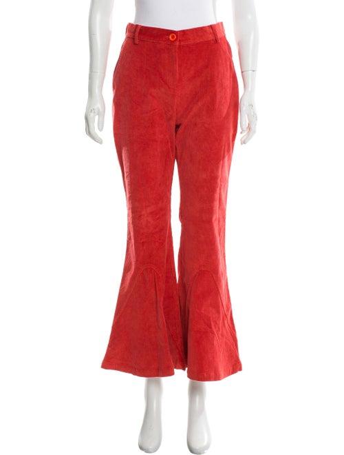 Vivienne Hu Wide Leg Pants Orange
