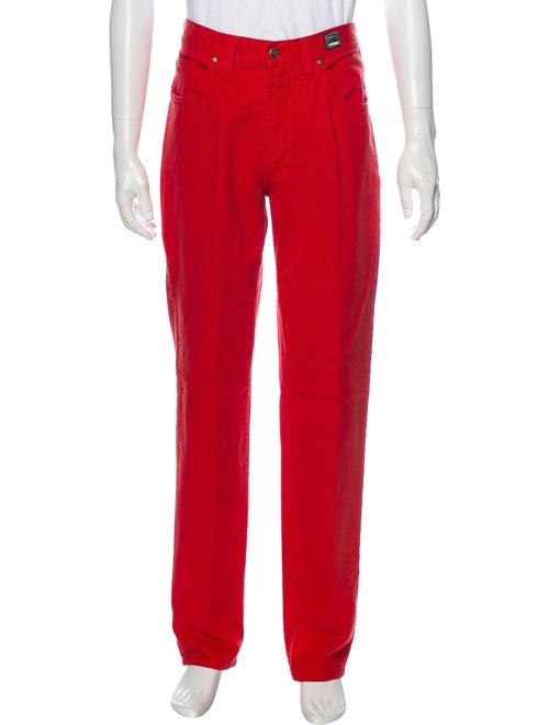 Versace Jeans Vintage Skinny Jeans Red