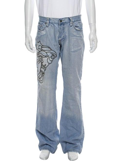 Versace Jeans Bootcut Jeans Blue