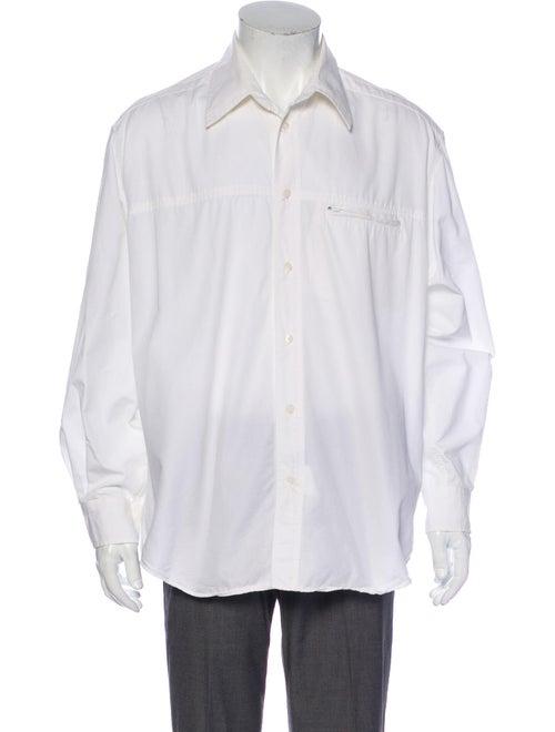 Versace Jeans Long Sleeve Shirt White