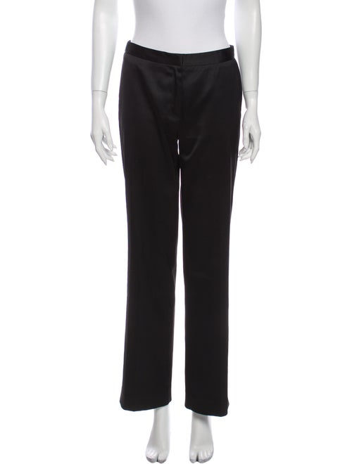 Versace Jeans Wide Leg Pants Black
