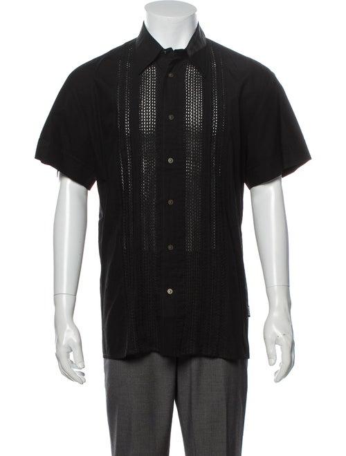 Versace Jeans Short Sleeve Shirt Black