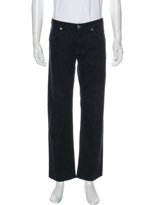 Versace Jeans Straight-Leg Jeans Black