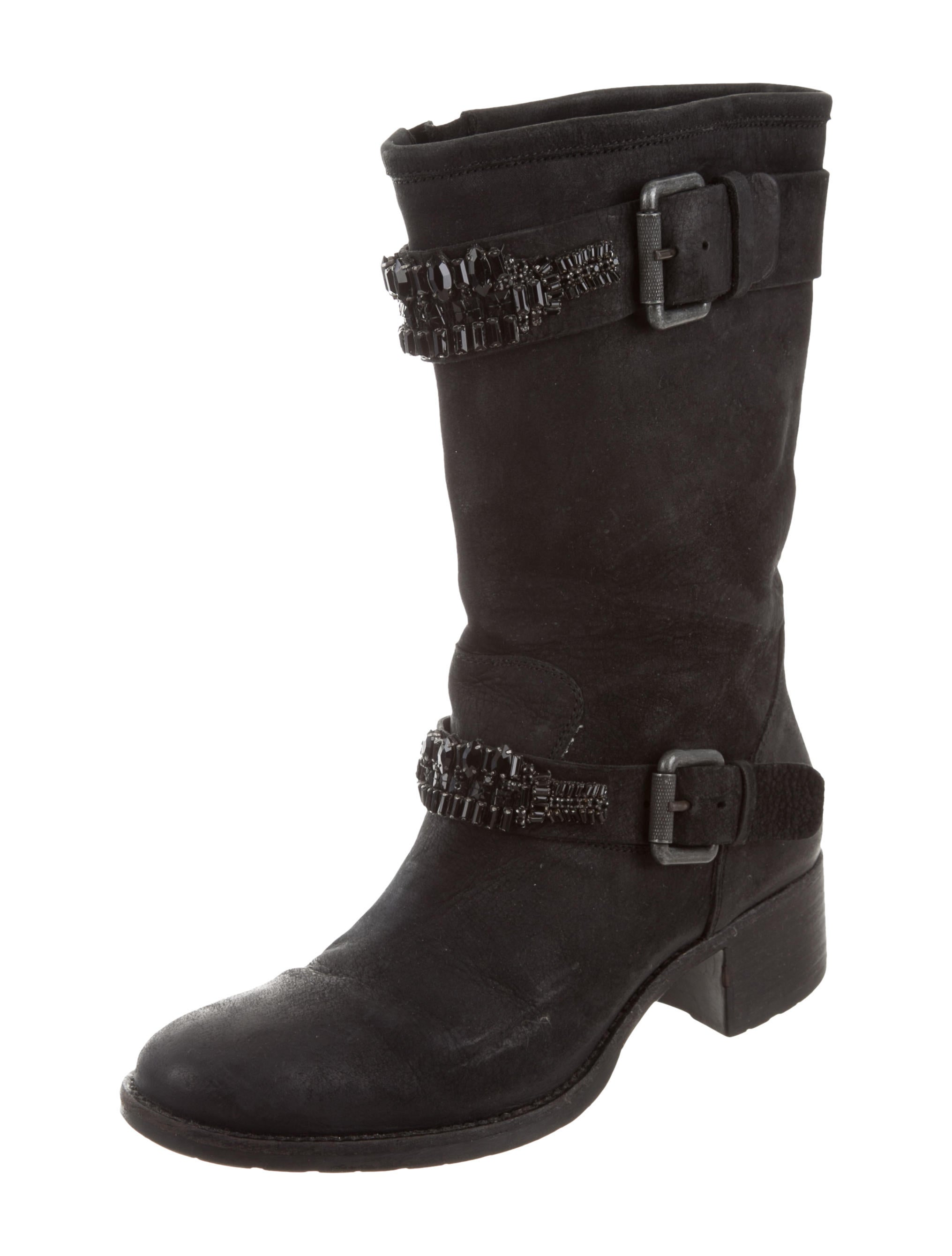 Vera Wang Lavender Label Embellished Moto Boots discount Manchester pay with paypal sale online ql2Mx
