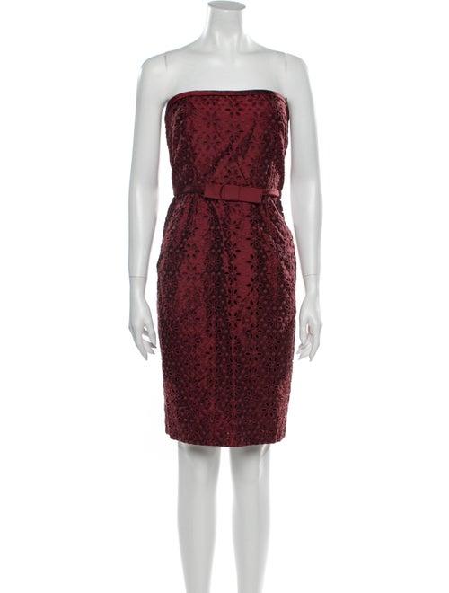 Vera Wang Lavender Label Silk Mini Dress