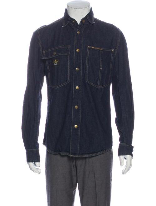 Vivienne Westwood x Lee Long Sleeve Denim Shirt De